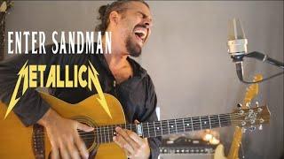 Enter Sandman - Metallica (Fingerstyle + Vocal Cover)