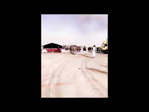 Airplane crash video Saudi Arabia