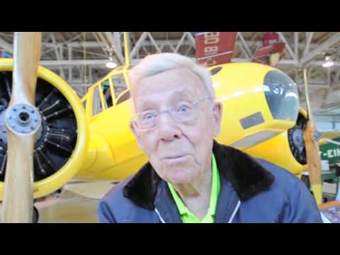 The 100-year-old pilot