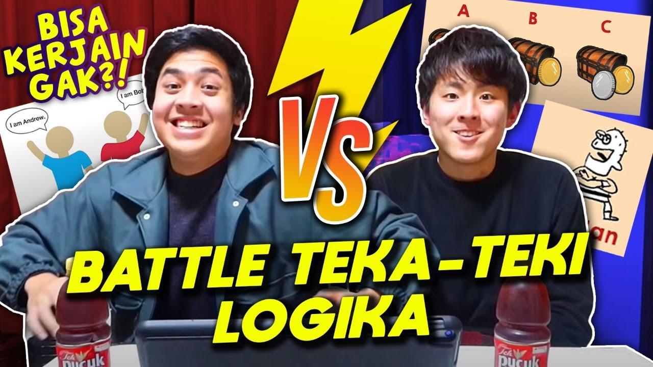 ASAH OTAK PAKE TEKA-TEKI LOGIKA BARENG TOMO! KEPALA SAMPE PANAS!