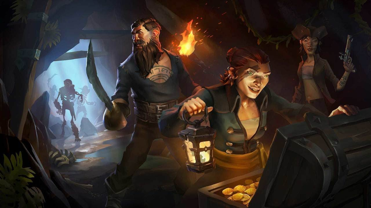 Image result for RARE CONSIDERED VAMPIRE, DINOSAUR THEMES FOR SEA OF THIEVES — IGN UNFILTERED