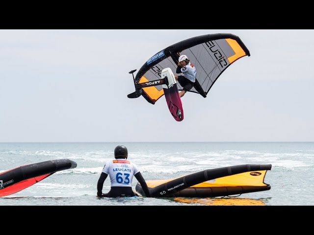 GWA Wingfoil World Cup Leucate | DAY 2 | What wingfoiling is all about?
