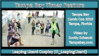 Leaping Lizard Cosplay Feature by Tampa Bay Times