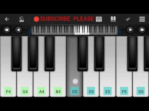 Khaab piano tutorial    Akhil   -Perfect piano