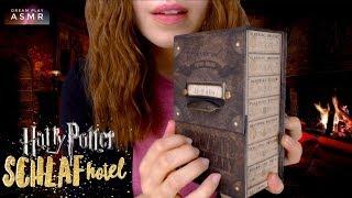 ★ASMR★ Harry Potter⚡️Schlaf Hotel - Übernachten in Hogwarts | Dream Play ASMR