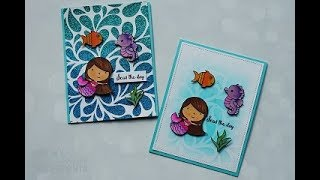 MISTI: Gina K Designs - Vicky Mermaid