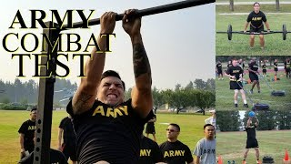 NEW ARMY COMBAT TEST 2020 ! REPLACING THE OLD ARMY FITNESS TEST!