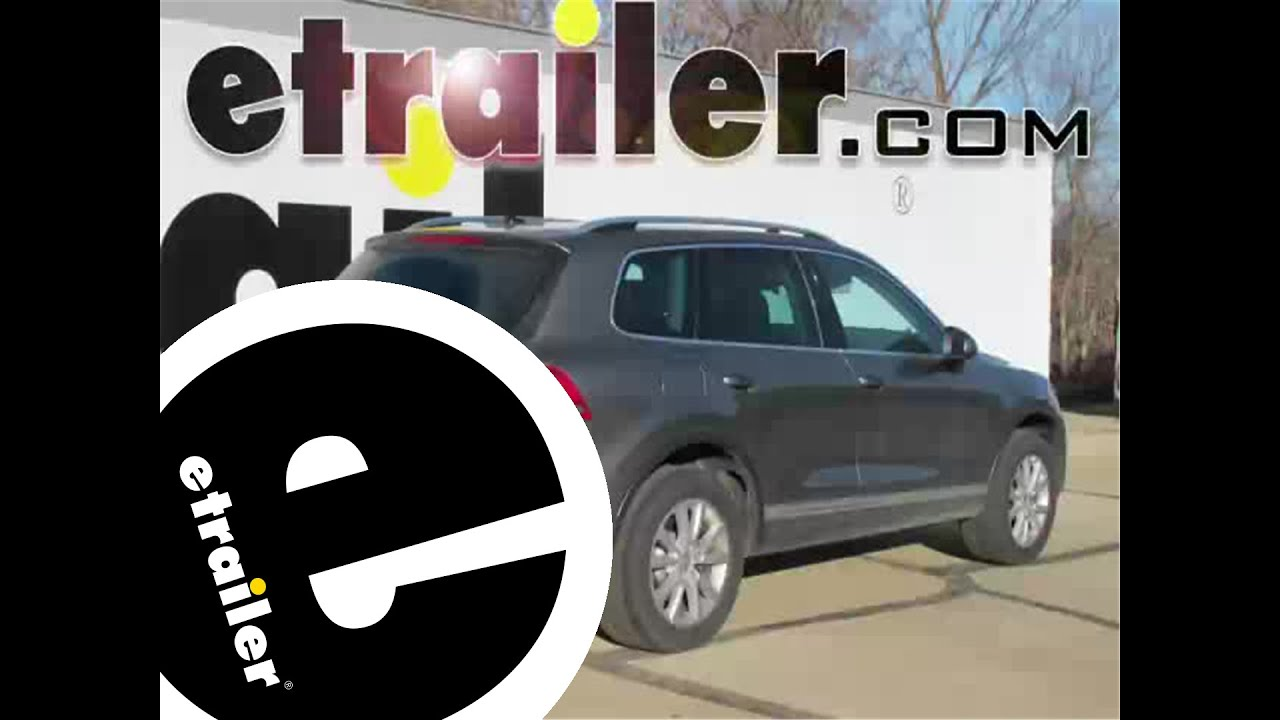 hight resolution of trailer hitch installation 2013 volkswagen touareg curt etrailer com