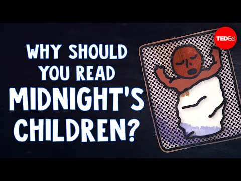 "Video image: Why should you read ""Midnight's Children""? - Isuelt Gillespie"