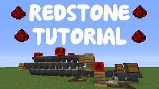 Minecraft 1.12: Redstone Tutorial - Industrial Furnace System!