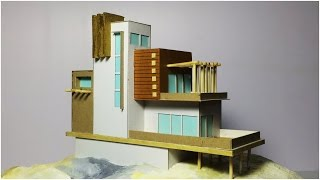 MODEL MAKING OF MODERN ARCHITECTURAL BUILDING #2