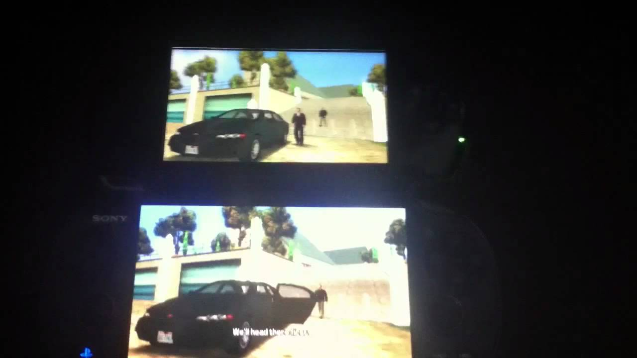 PS Vita vs PSP 3000 Grand theft auto - YouTube