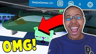 BUYING THE NEW $1,000,000 ARMY HELICOPTER WITH ROBUX! Roblox Jailbreak Update