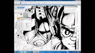 THE PRODIGY digital speed drawing