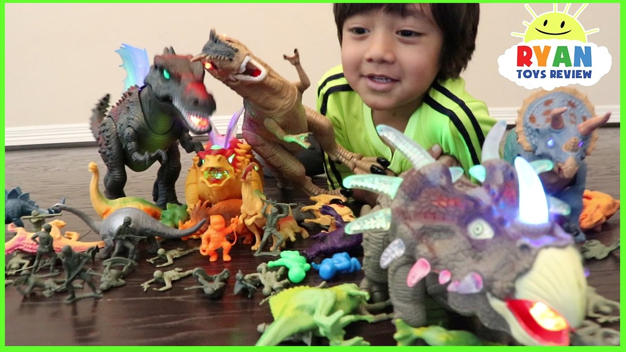 Dinosaurs Toys Collection : Dinosaurs toys collection for kids jurassic world