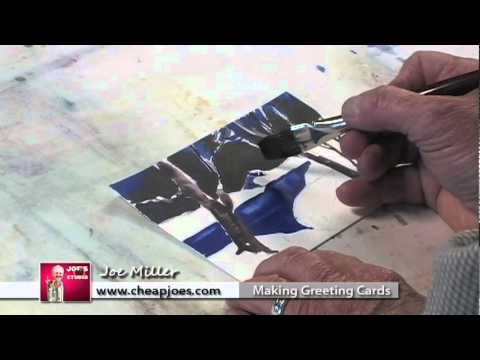 Goof proof watercolor greeting cards with joe miller part 1 youtube m4hsunfo