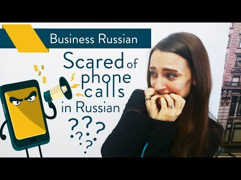 Telephone Russian: Telephone Etiquette In Business | Business Russian Lesson