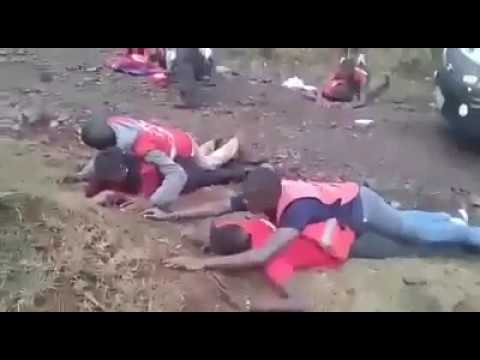 Kenya redcross staff Undergo Worrying Drill Excercise