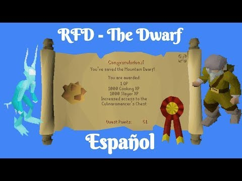 OSRS Recipe For Disaster - The Dwarf (Español) - YouTube