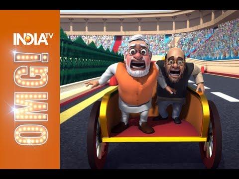 OMG: Akhilesh-Rahul, Modi, Mayawati battle it out be the 'King of UP' thumbnail