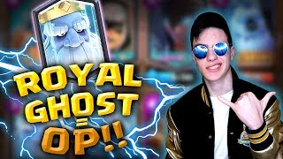 ROYAL GHOST IS INSANE! This Deck Is ULTRA STRONG! EZ 12 WINS In A Grand Challenge
