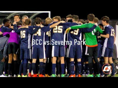 Bethesda-Chevy Chase vs Severna Park Maryland 4A Soccer State Championship Game Highlights