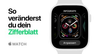 Apple Watch Series 4 – So veränderst du dein Zifferblatt – Apple