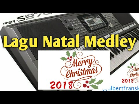 10 Menit Lagu Natal NONSTOP !!! Medley dengan Style Reggae di Yamaha PSR S