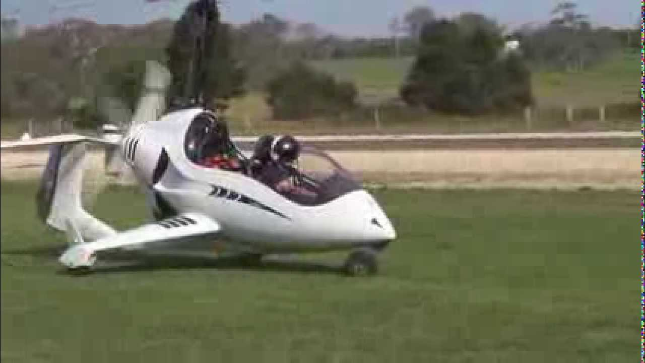 Flying Sean's Arrowcopter Gyroplane For The First Time ...