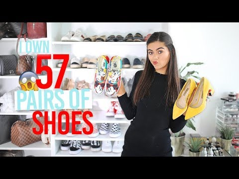😱CLEAR OUT My SHOE Collection With Me! 57 PAIRS OF SHOES😱