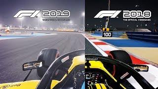 КОНКУРС НА F1 2019 И СРАВНЕНИЕ ГРАФИКИ С F1 2018