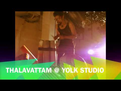 Super fab glistening sounds by THALAVATTAM @ yolk studio