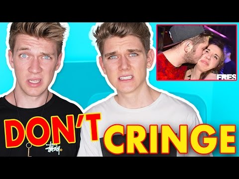 TRY NOT TO CRINGE CHALLENGE | Collins Key React