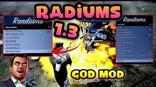 GTA V - MOD MENU RAMDIUMS 1.3 {{GOD MOD PARA AMIGOS}} + DOWNLOAD