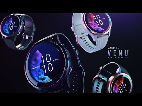 Video thumbnail for Garmin Venu (Slate/Black)
