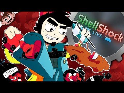 TANKING out the TRASH! | GaLm Got Shredded; Ze Got Sniped! (Shellshock Live w/ Friends)