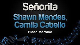 Shawn Mendes, Camila Cabello - Señorita (Piano Version)