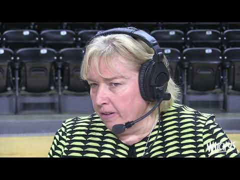 WBB Postgame: Keitha Adams vs. Cincinnati (Feb. 7, 2018)