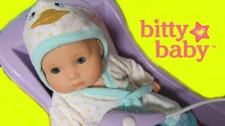 BITTY BABY Duck Bathrobe Unboxing + Bitty Bathtub + My Life As Pajamas with BITTY BABY CHANNEL