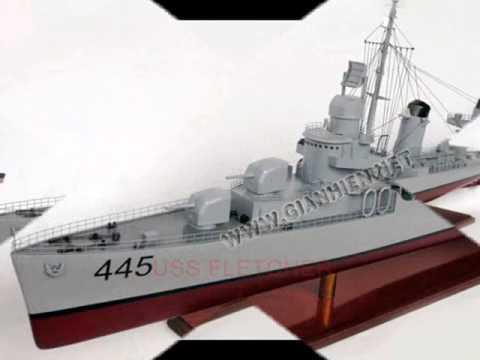 USS FLETCHER - GIA NHIEN VIETNAM BOATS BUILDER