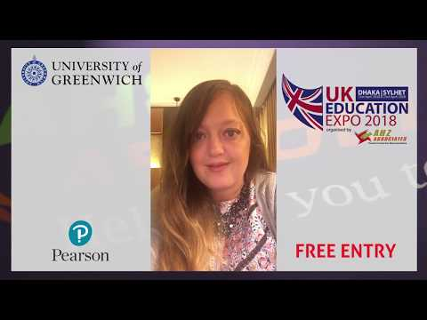 University of Greenwich at UK Education Expo 2018