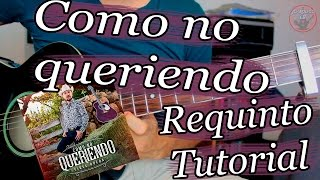 Como no queriendo - Fidel Rueda - Guitarra Requinto Tutorial thumbnail
