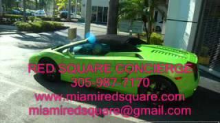 УСЛУГИ ТРАНСПОРТА В США - АРЕНДА  МАШИН НА ЛЮБОЙ ВКУС!(Фирма RED SQUARE CONCIERGE специализируется на прокате экзотических, роскошных и спортивных автомобилей во Флориде...., 2011-07-22T16:23:12.000Z)
