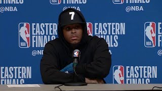 Kyle Lowry Postgame Interview - Game 5 | Raptors vs Bucks | 2019 NBA Playoffs