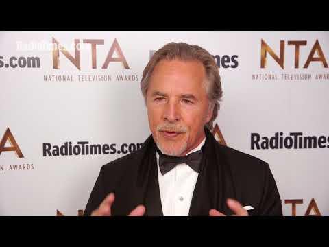 Don Johnson talks Miami Vice versus modern TV cops at the NTAs 2018