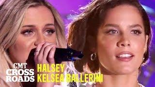 Gambar cover Kelsea Ballerini + Halsey Perform 'The Other Girl' | CMT Crossroads