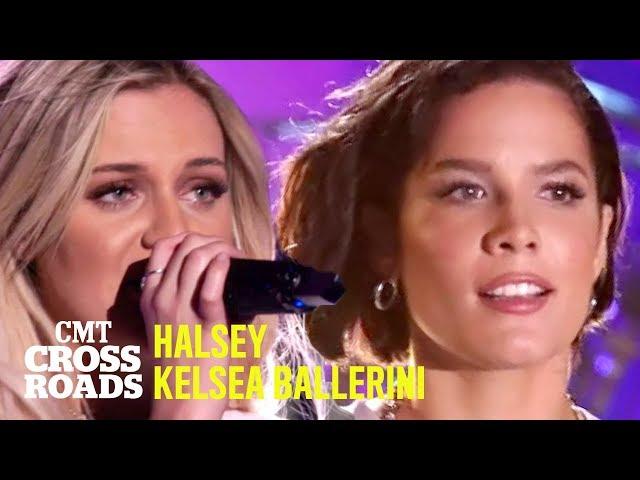 Kelsea Ballerini + Halsey Perform 'The Other Girl' | CMT Crossroads