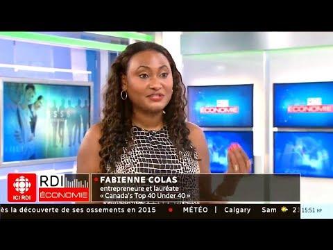 Fabienne Colas nommée 2018 Canada's Top 40 under 40 | RDI Économie