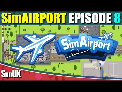 SimAirport Episode 8 - Automated Baggage Handling.................Eventually!!