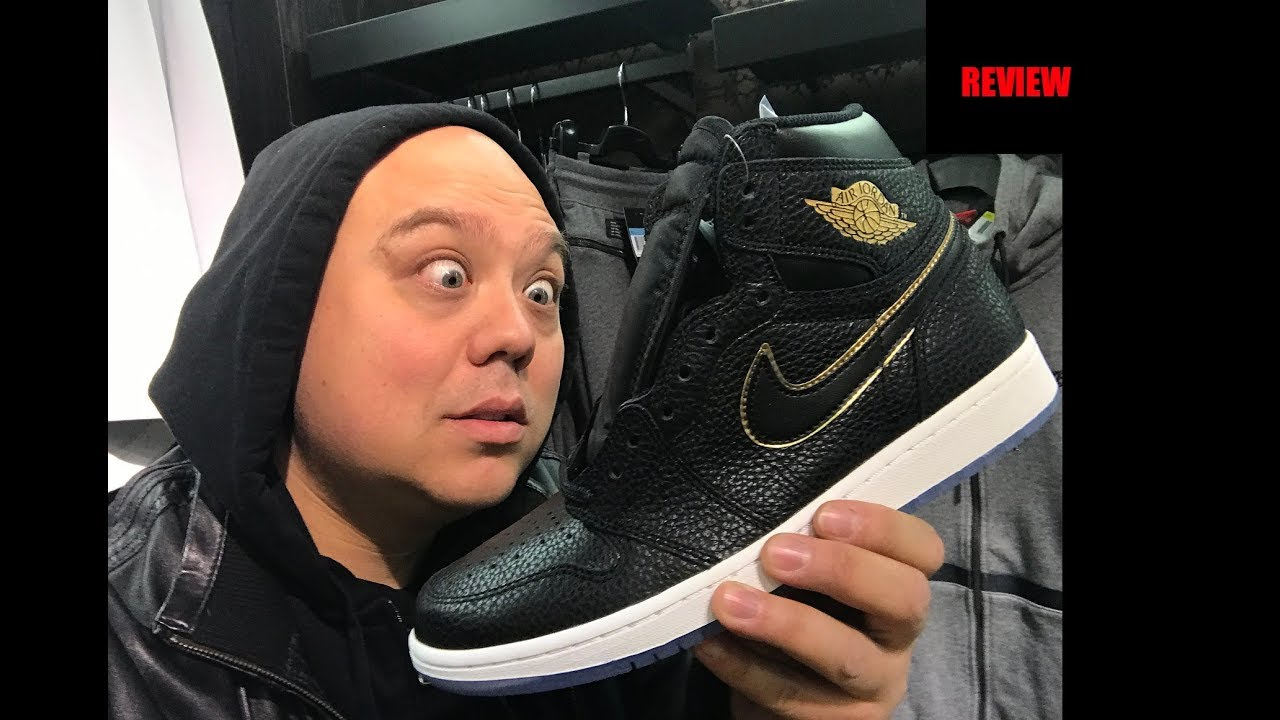 111a0653fa Air Jordan 1 Retro City Of Flight 2018 NBA Allstar Weekend Sneaker Review